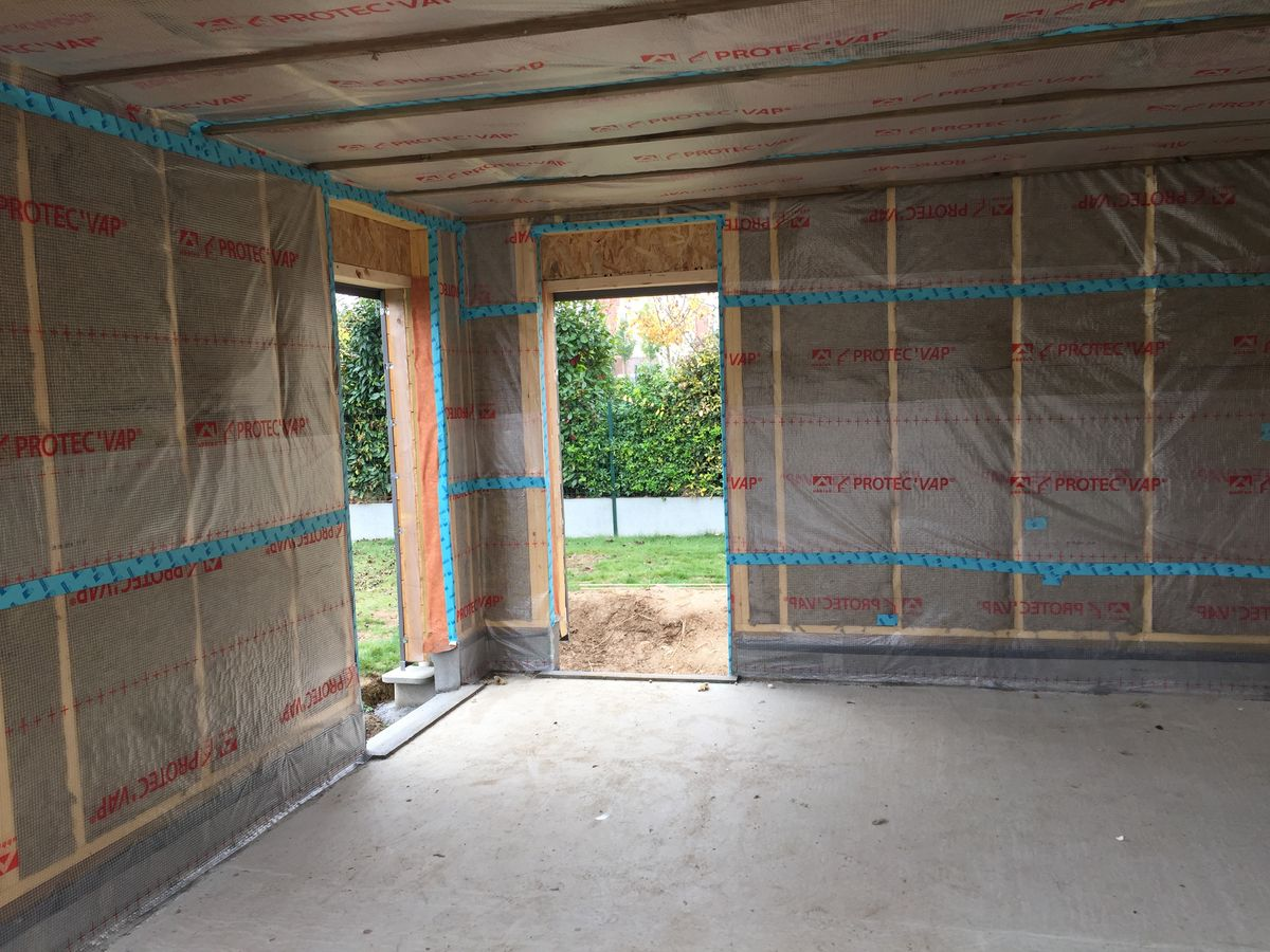 Constructeur maison ossature metallique gironde for Extension maison ossature metallique