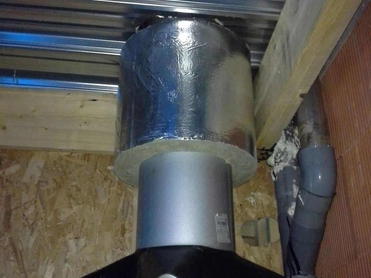 Pose conduits de chemin es bordeaux bassin d 39 arcachon tuber tuyau tubage chaudi res po les - Sortie de cheminee pour bac acier ...