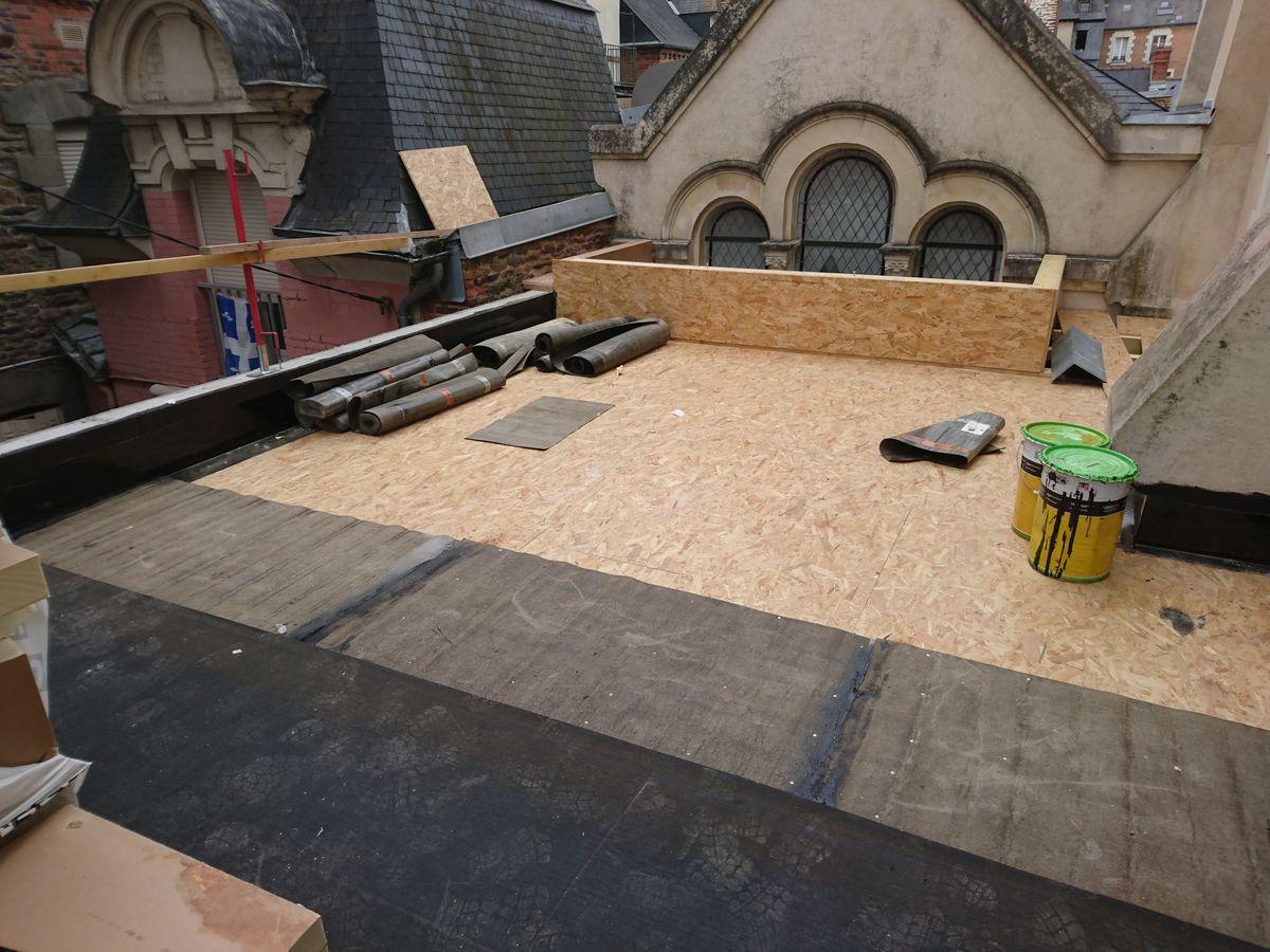 terrasse toiture une nouvelle en with terrasse toiture fabulous prix duun toit terrasse with. Black Bedroom Furniture Sets. Home Design Ideas